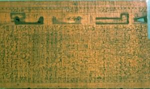 Egyptian Papyrus Scroll Fragment